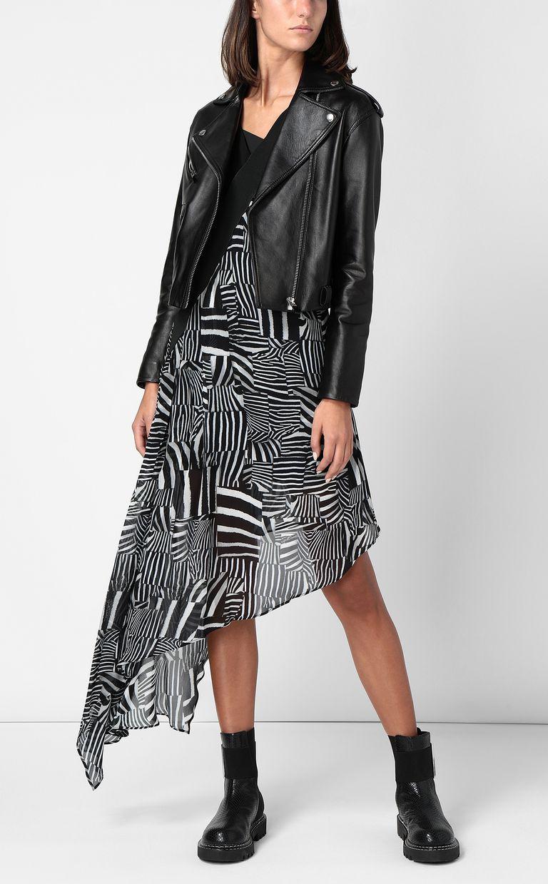JUST CAVALLI Dress with Patchwork-Zebra print Dress Woman d