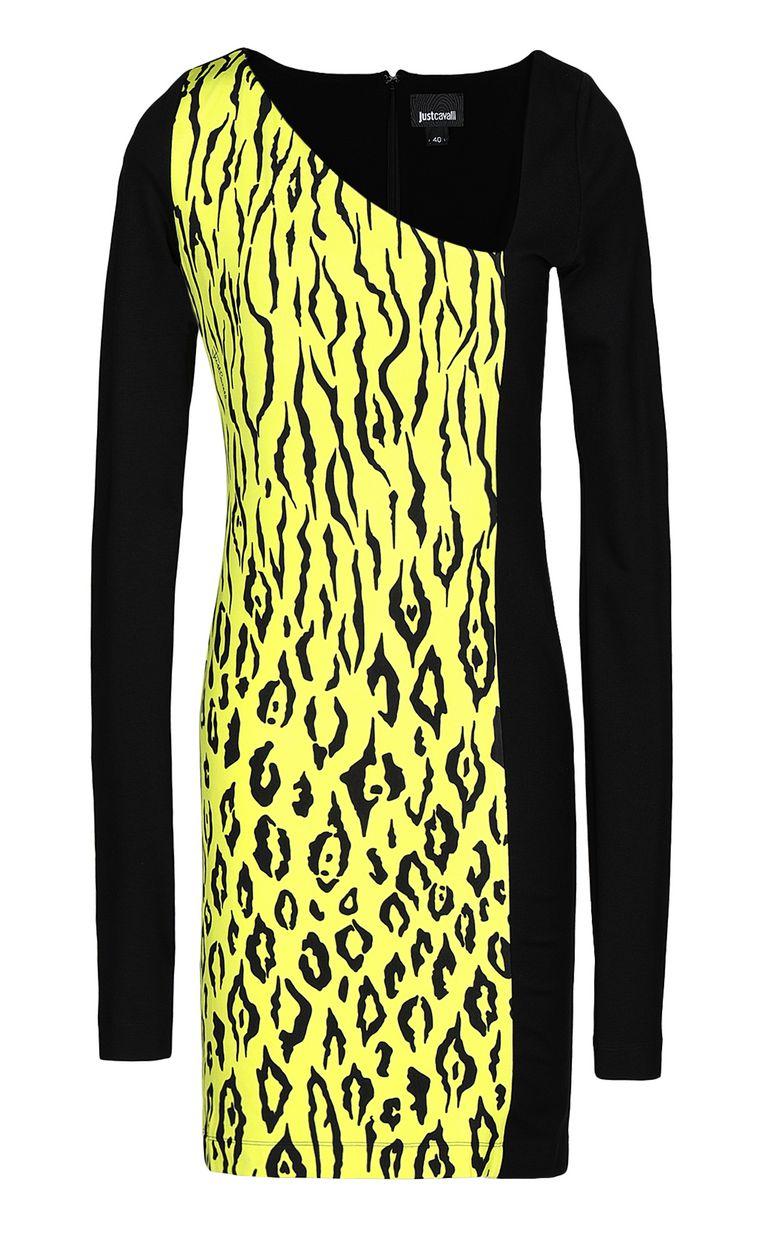 JUST CAVALLI Dress with Tigon print Dress Woman f