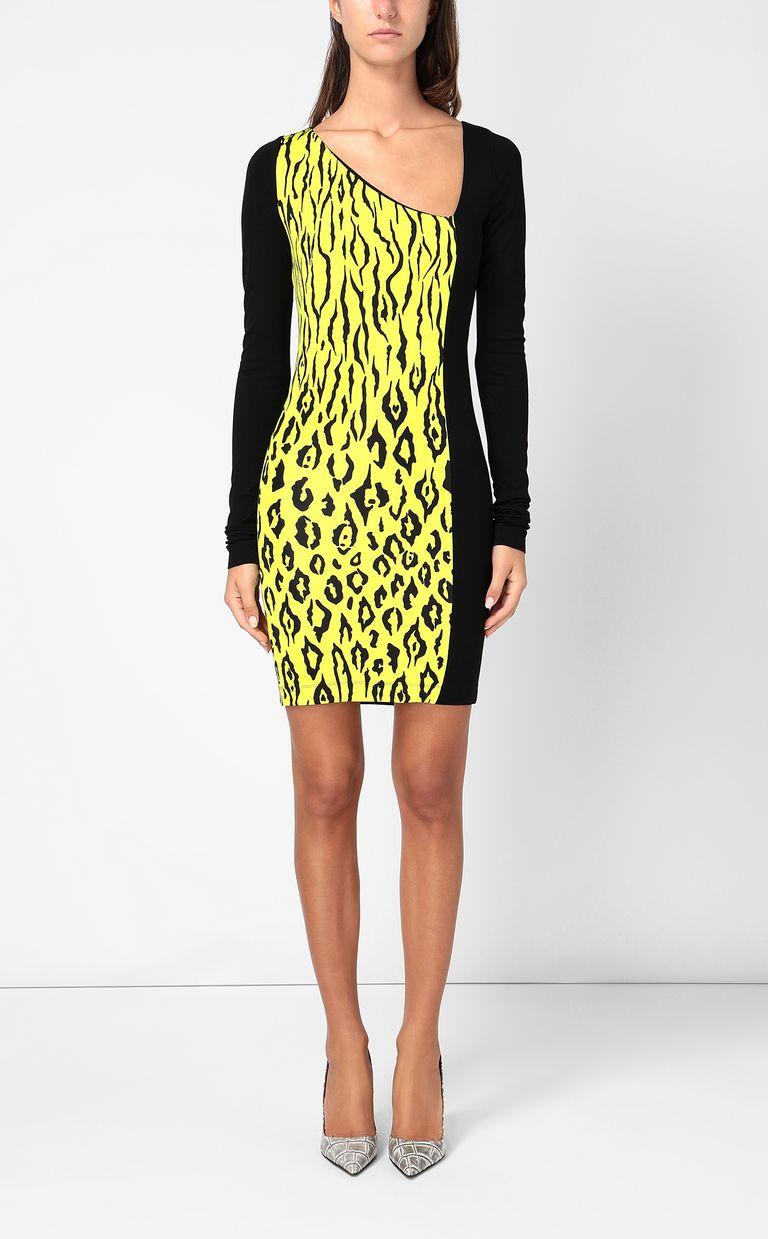 JUST CAVALLI Dress with Tigon print Dress Woman r