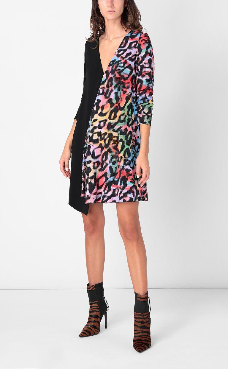 JUST CAVALLI Dress with Leo-Pop print Dress Woman d
