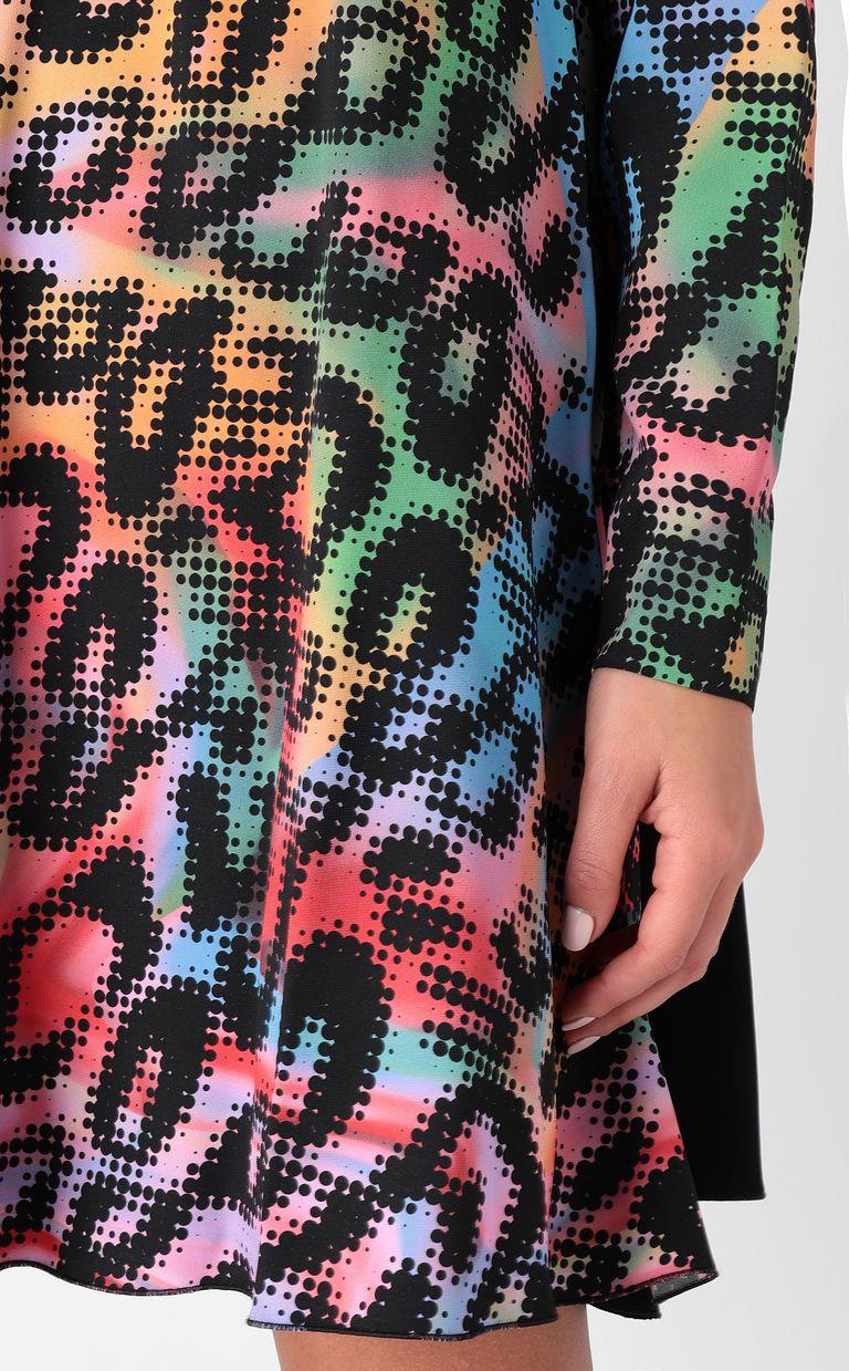 JUST CAVALLI Dress with Leo-Pop print Dress Woman e