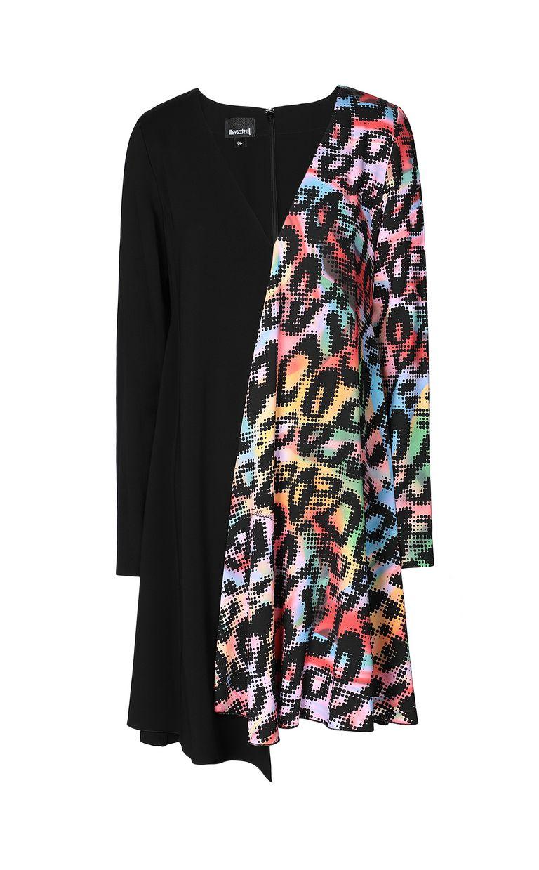 JUST CAVALLI Dress with Leo-Pop print Dress Woman f