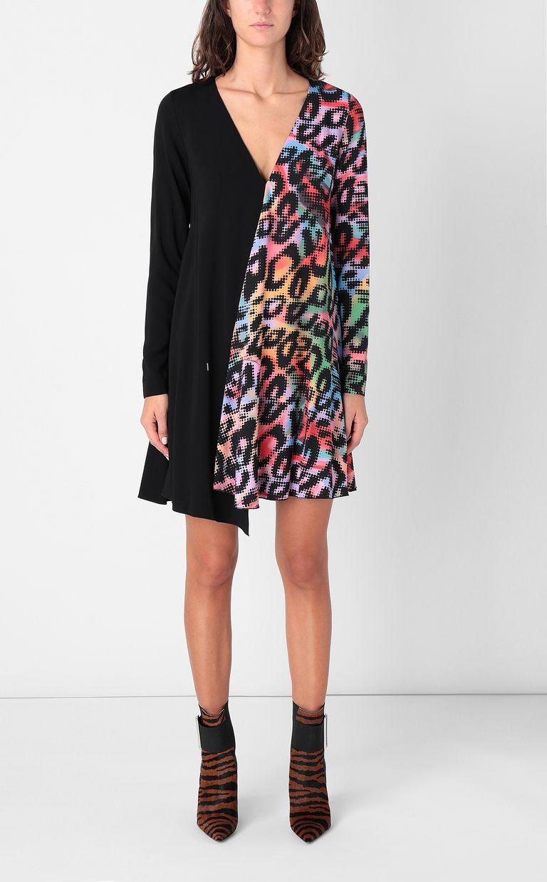 JUST CAVALLI Dress with Leo-Pop print Dress Woman r