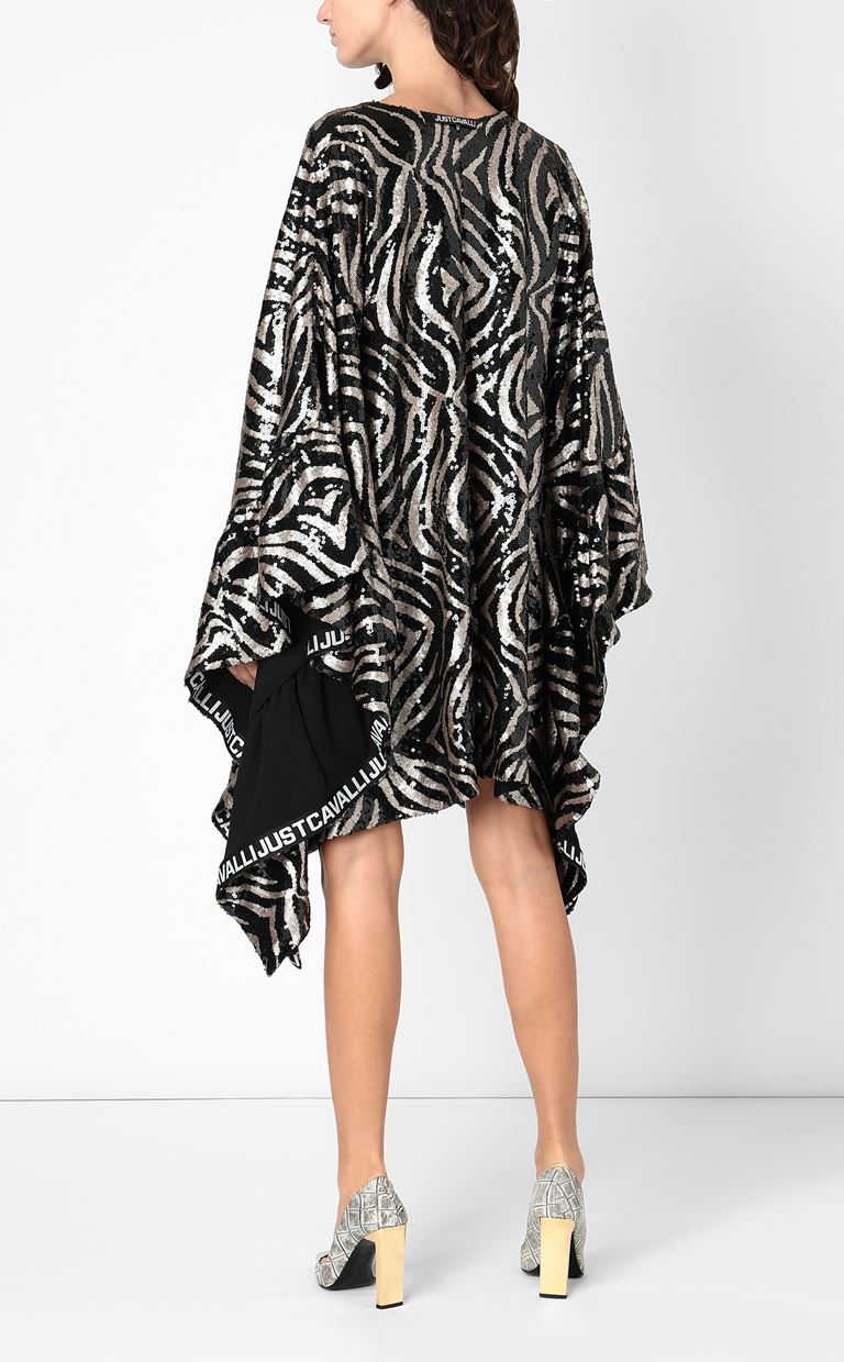 JUST CAVALLI Dress with sequins Dress Woman a