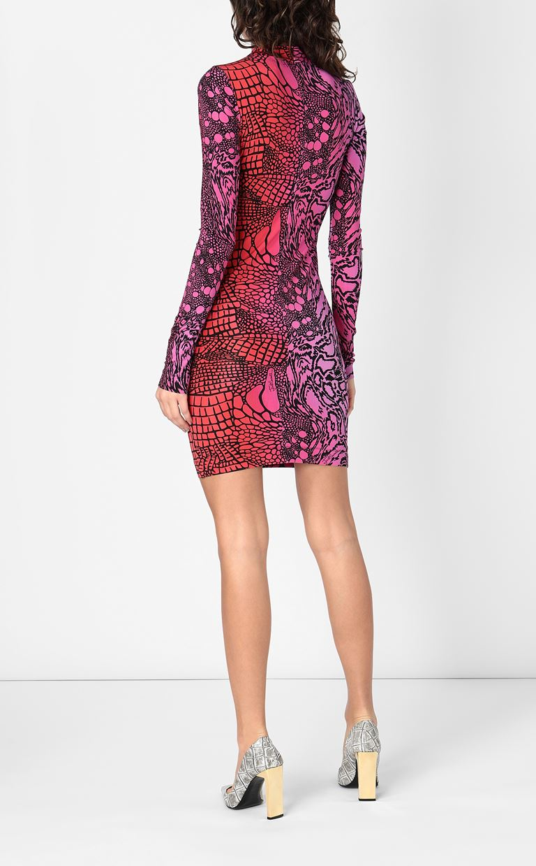 JUST CAVALLI Dress with Reptilia print Dress Woman a