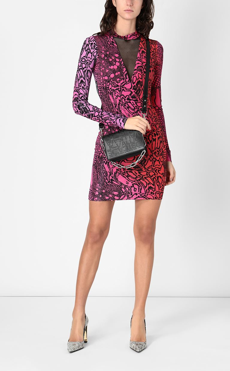 JUST CAVALLI Dress with Reptilia print Dress Woman d