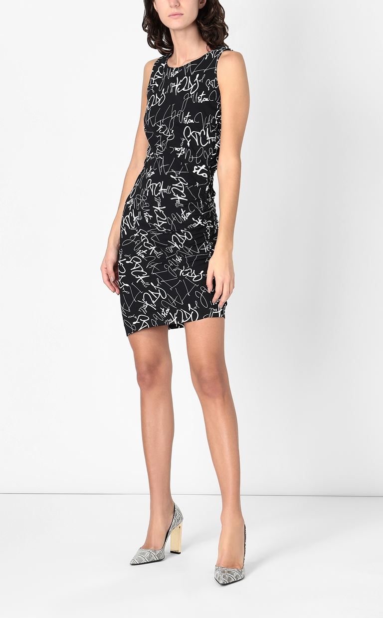 JUST CAVALLI Signature-Confusion-print dress Short dress Woman d