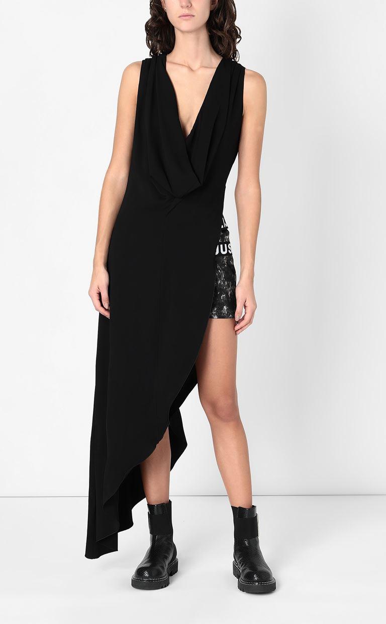 JUST CAVALLI Asymmetrical gown Long dress Woman r