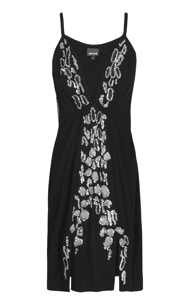 JUST CAVALLI Dress with animal-print pattern Dress Woman f