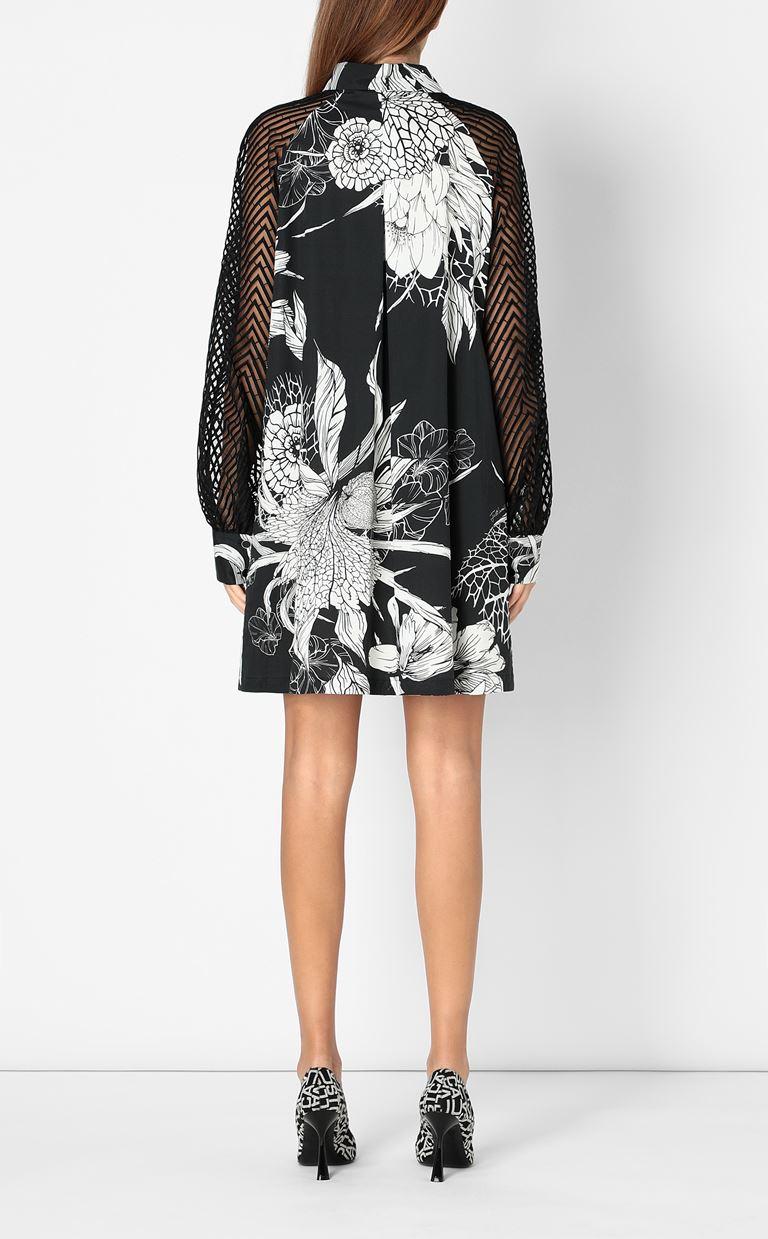 JUST CAVALLI Floral-printed dress Dress Woman a