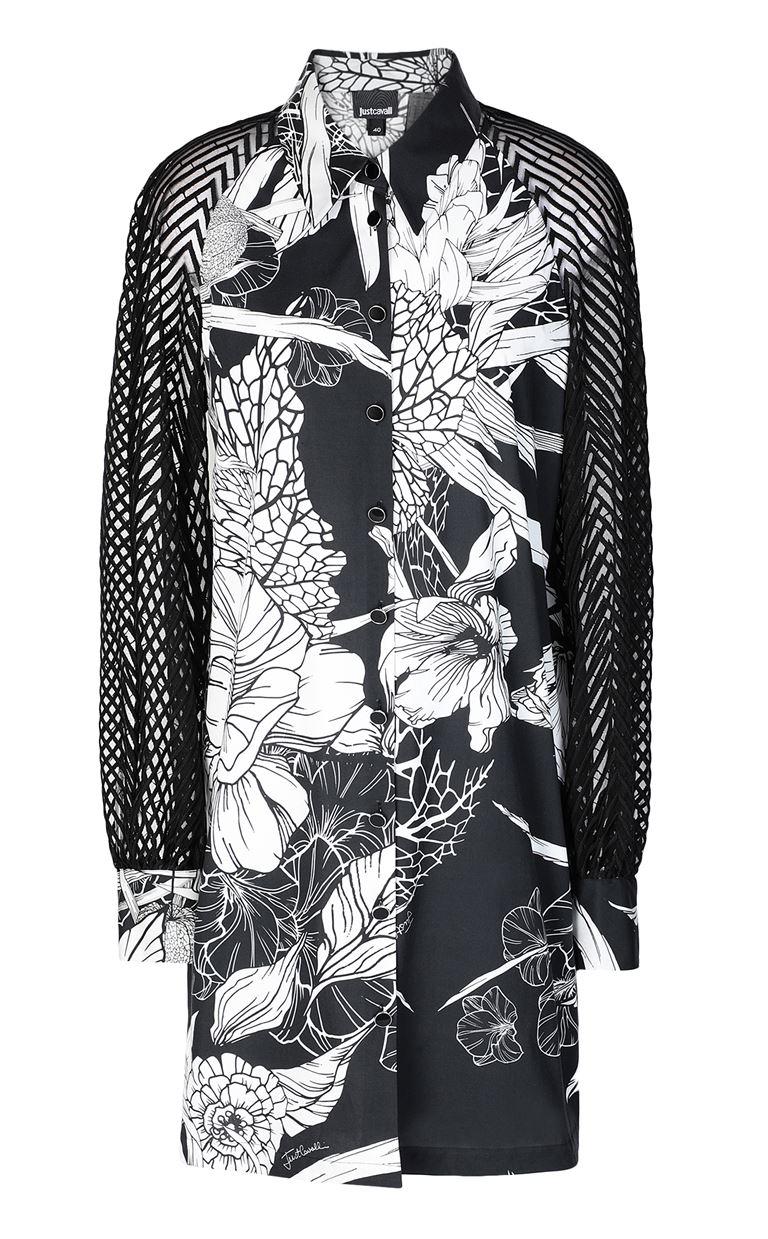 JUST CAVALLI Floral-printed dress Dress Woman f