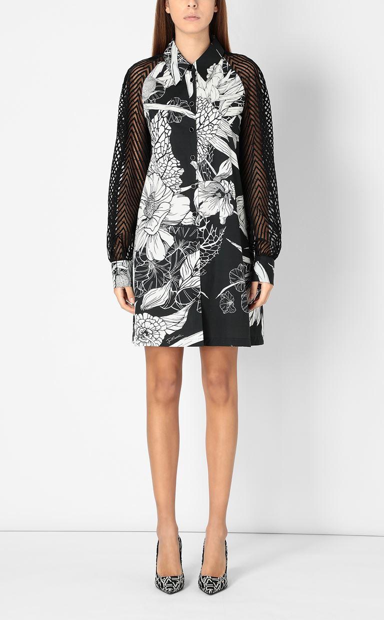 JUST CAVALLI Floral-printed dress Dress Woman r