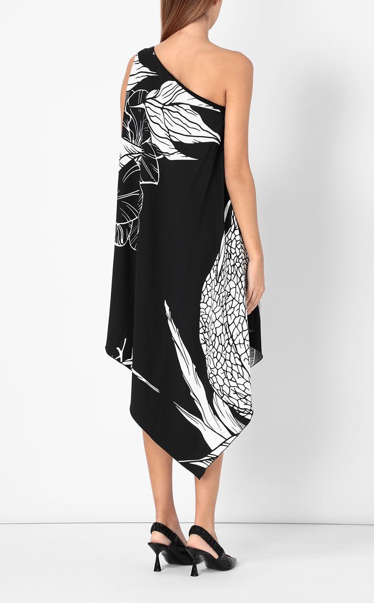 JUST CAVALLI One-shoulder floral-printed dress Dress Woman a