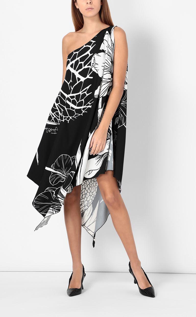 JUST CAVALLI One-shoulder floral-printed dress Dress Woman d