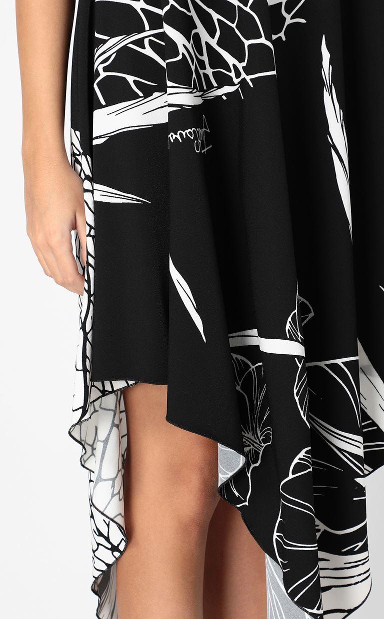 JUST CAVALLI One-shoulder floral-printed dress Dress Woman e