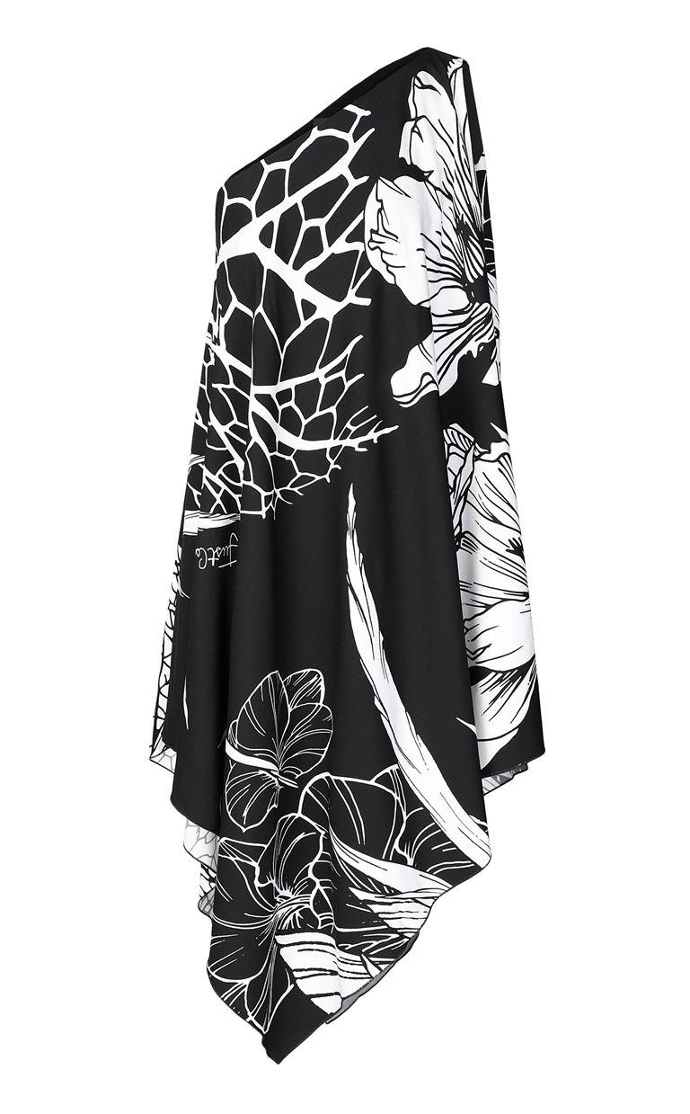 JUST CAVALLI One-shoulder floral-printed dress Dress Woman f