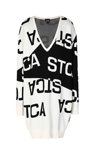 JUST CAVALLI Dress Woman Dress with STCA logo f