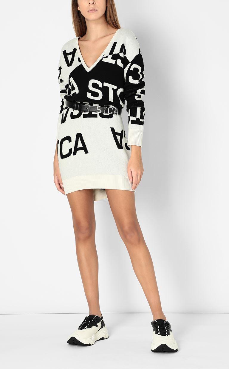 JUST CAVALLI Dress with STCA logo Dress Woman d