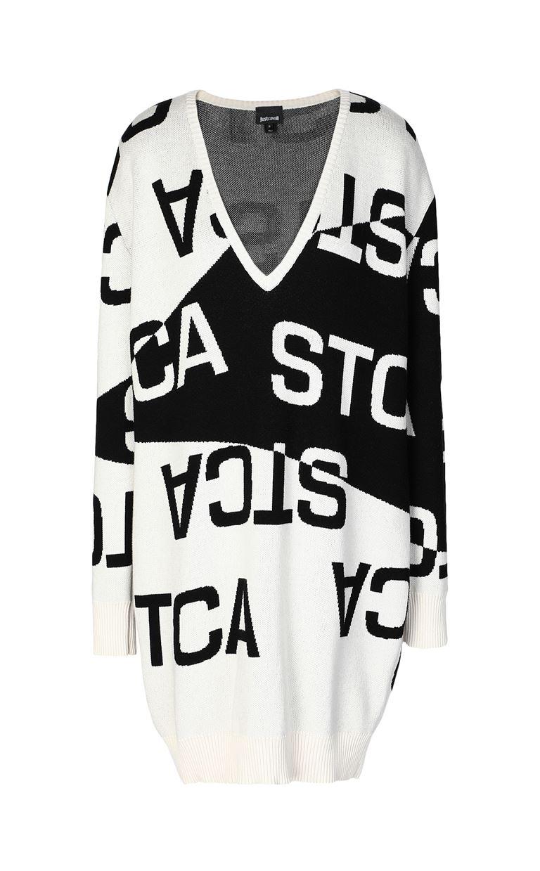 JUST CAVALLI Dress with STCA logo Dress Woman f