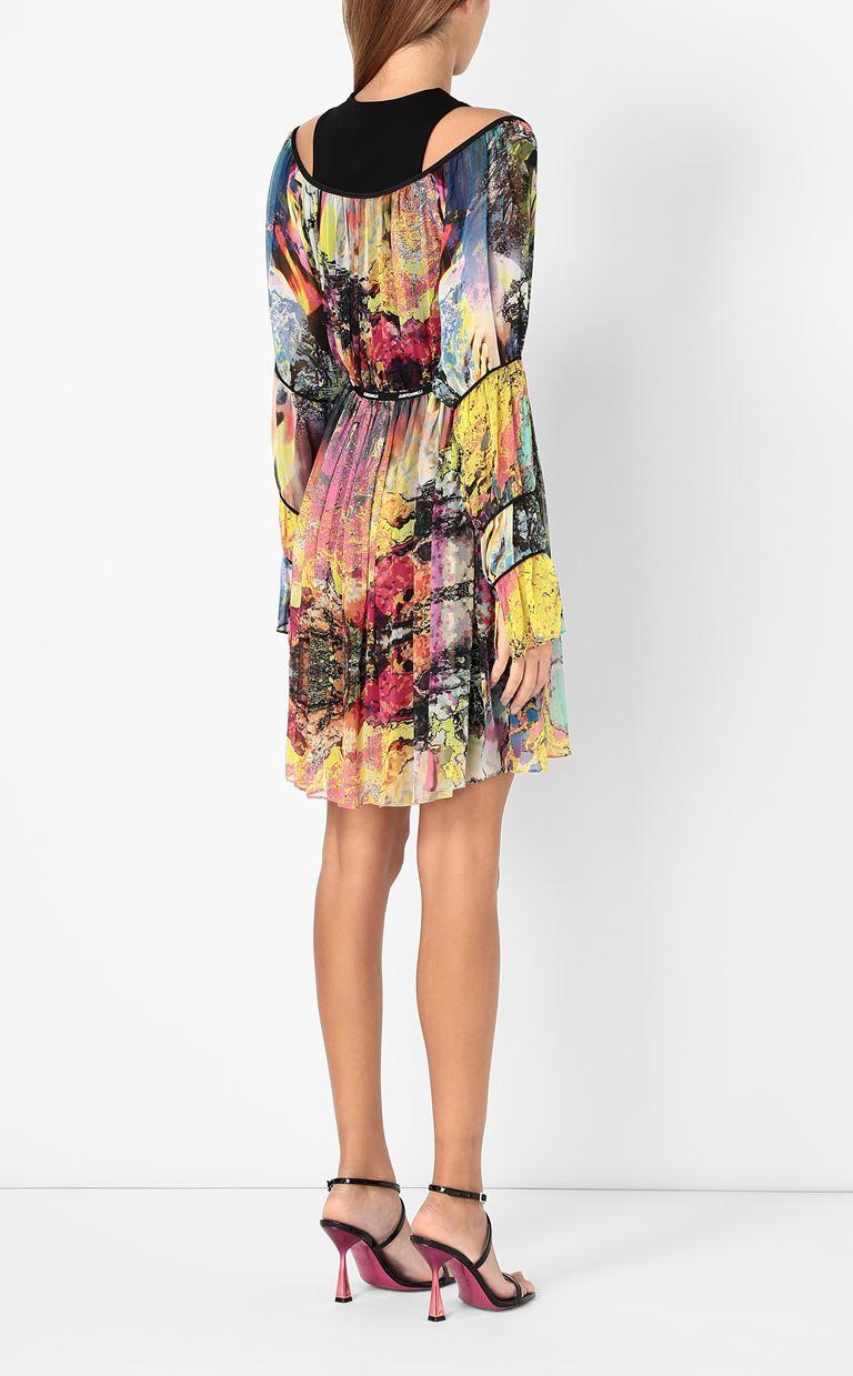 JUST CAVALLI Dress with print design Dress Woman a