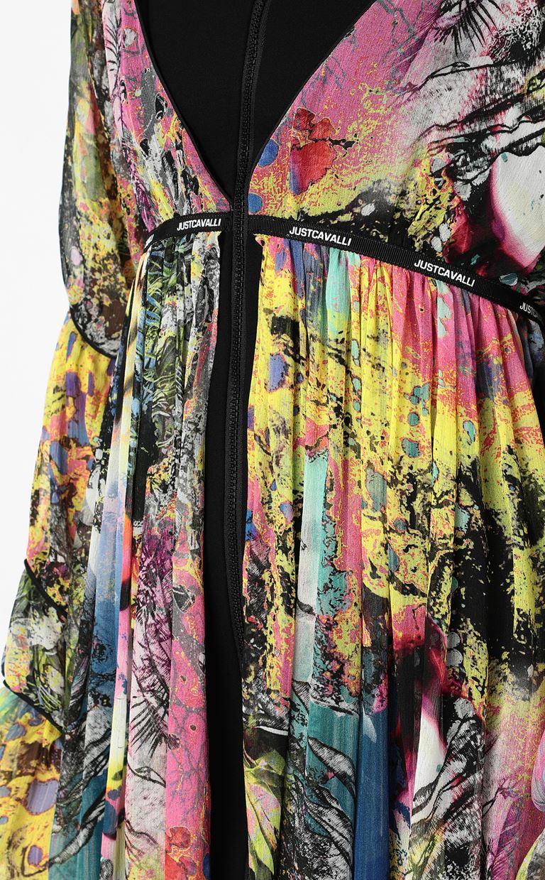JUST CAVALLI Dress with print design Dress Woman e