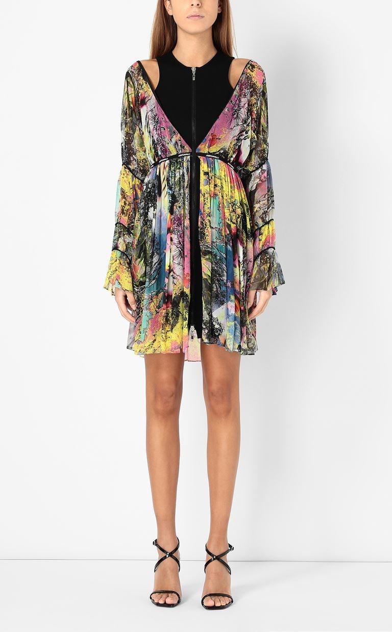 JUST CAVALLI Dress with print design Dress Woman r