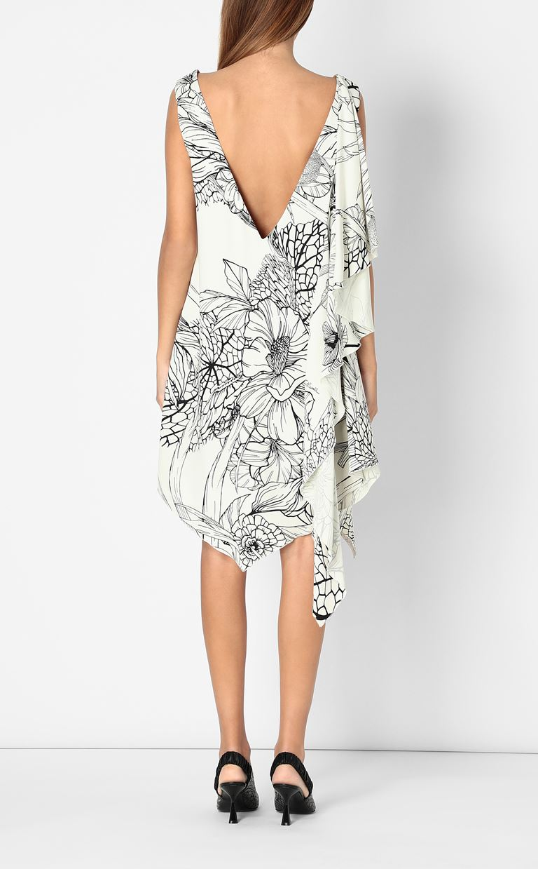 JUST CAVALLI Floral-printed dress Dress Woman a