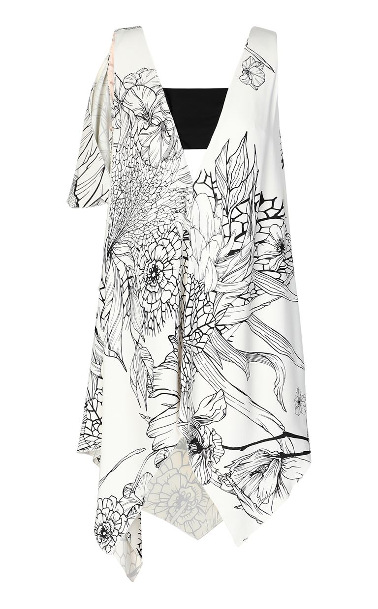 JUST CAVALLI Floral-printed dress Dress Woman f