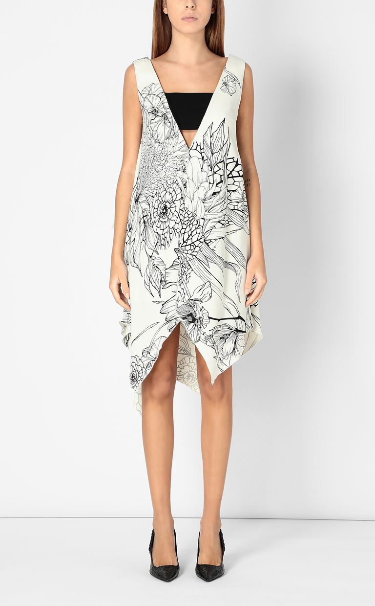 JUST CAVALLI Floral-printed dress Dress Woman r