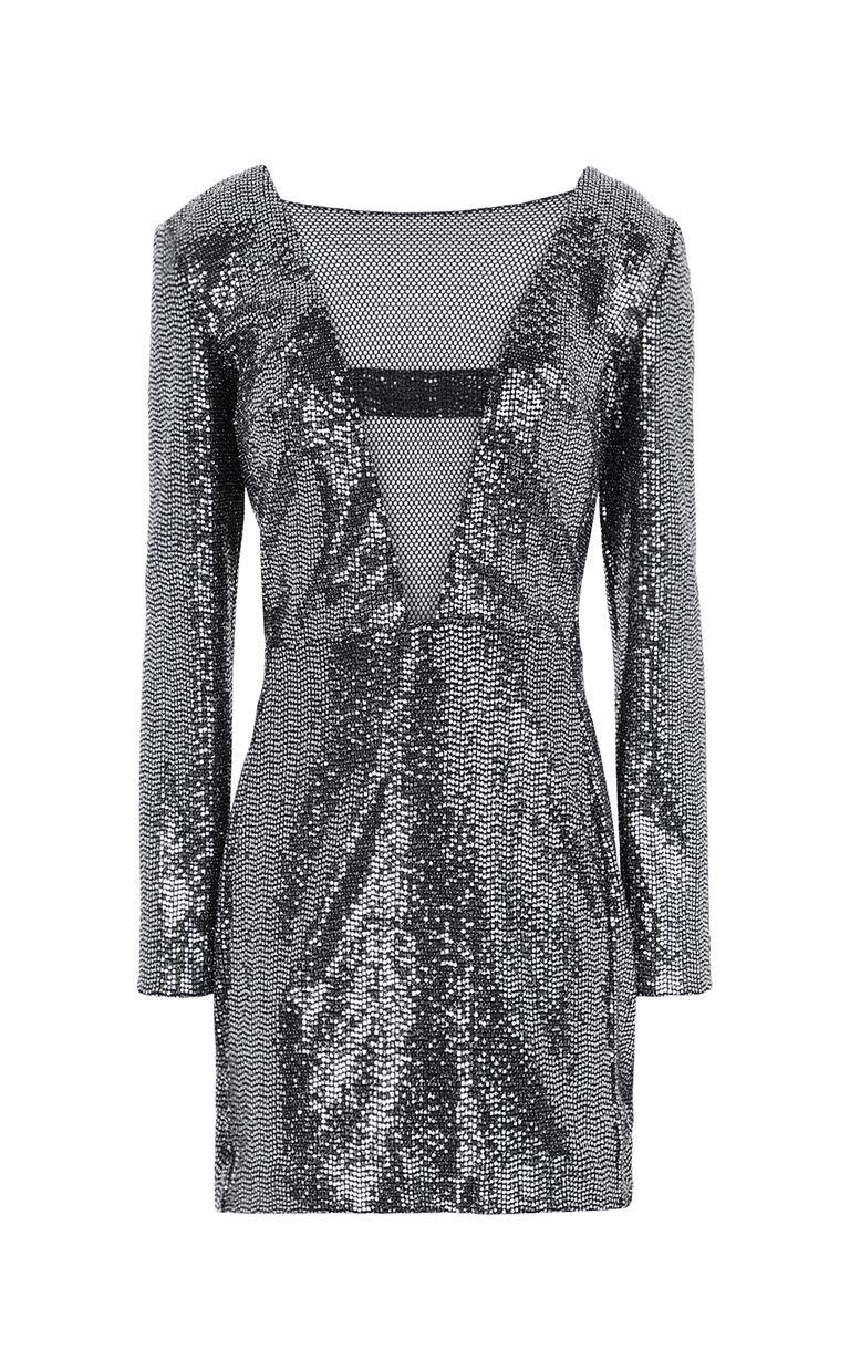 JUST CAVALLI Short dress with sequins Dress Woman f
