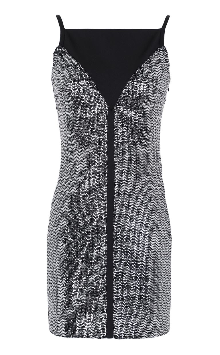 JUST CAVALLI Short dress with sequins Dress Woman f