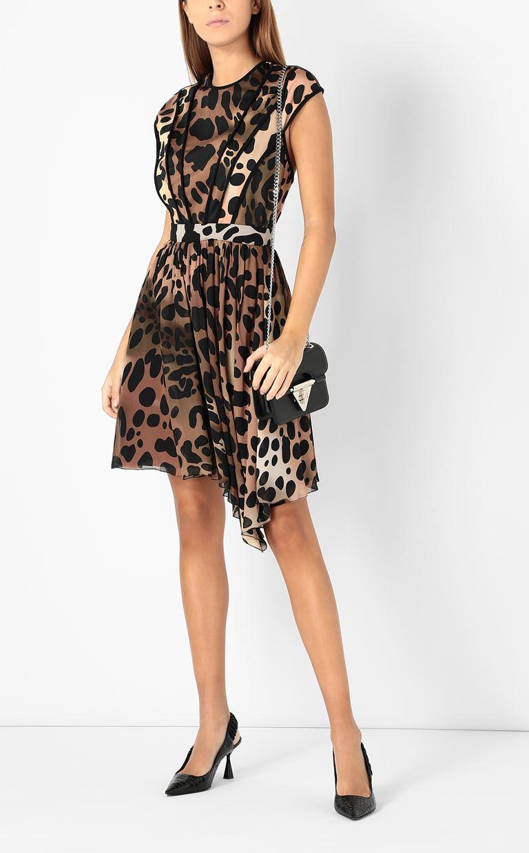 JUST CAVALLI Dress with leopard spots Dress Woman d