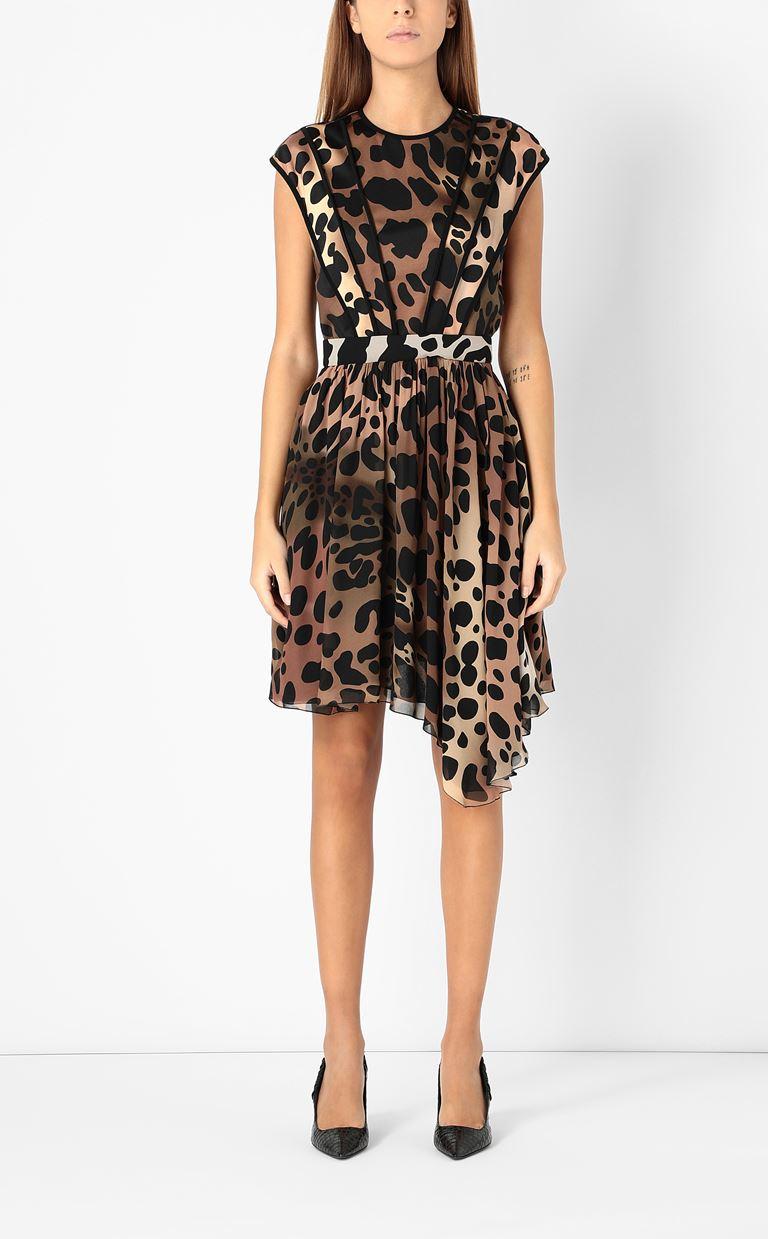 JUST CAVALLI Dress with leopard spots Dress Woman r