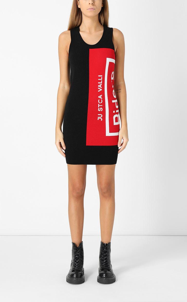 JUST CAVALLI Dress with Riders print design Dress Woman r