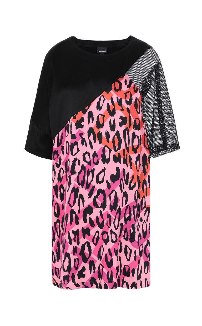 JUST CAVALLI Dress with leopard spots Dress Woman f