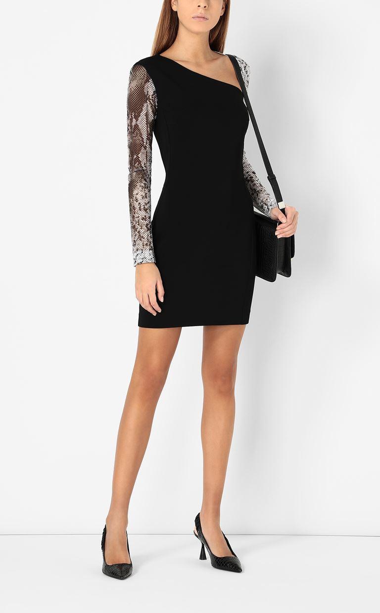 JUST CAVALLI Dress with python detailing Dress Woman d