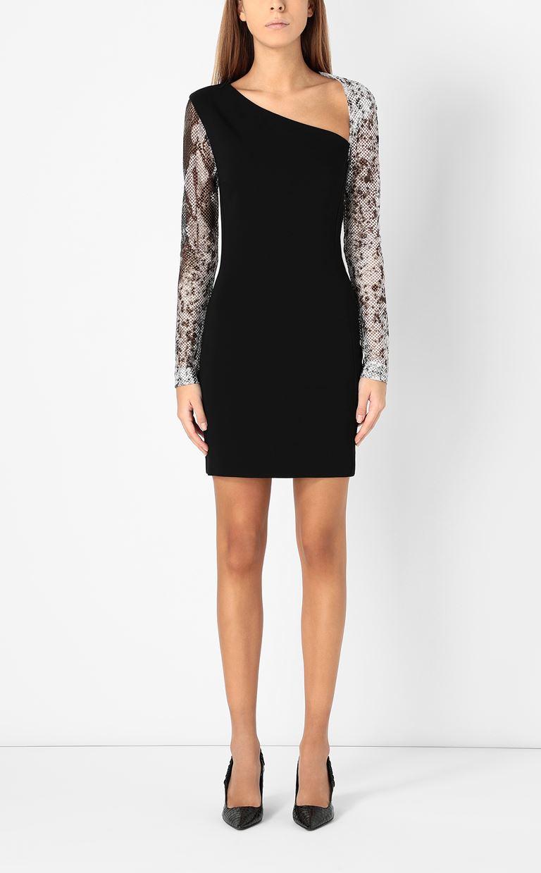 JUST CAVALLI Dress with python detailing Dress Woman r