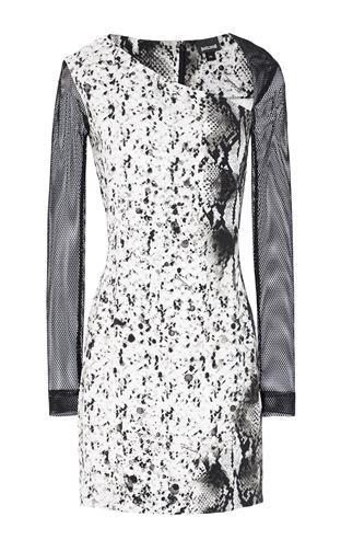 JUST CAVALLI Dress Woman Dress with python detailing f