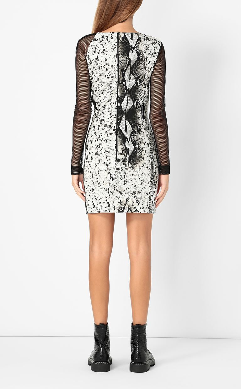 JUST CAVALLI Dress with python print Dress Woman a