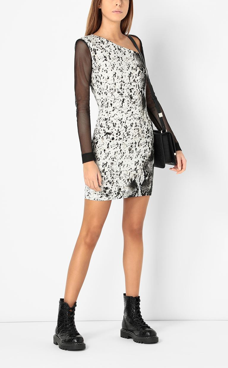 JUST CAVALLI Dress with python print Dress Woman d