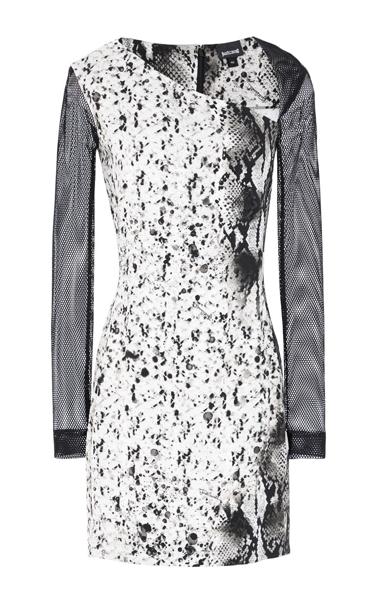 JUST CAVALLI Dress with python print Dress Woman f