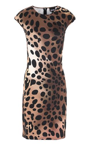 JUST CAVALLI Top Woman Top with leopard-spot details f
