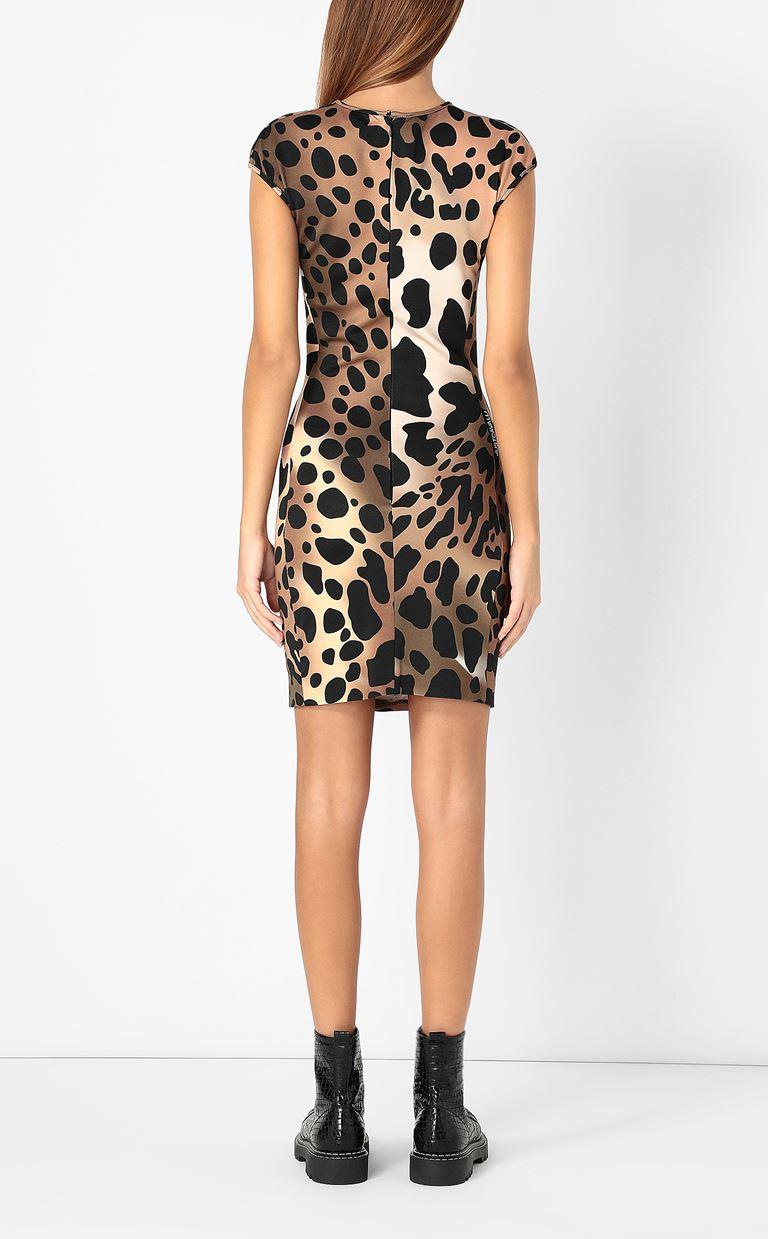 JUST CAVALLI Dress with leopard spots Dress Woman a