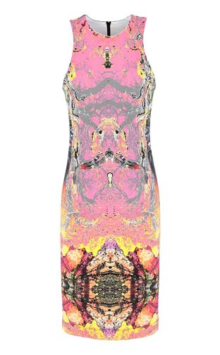 JUST CAVALLI Long dress Woman Leopard-print gown f
