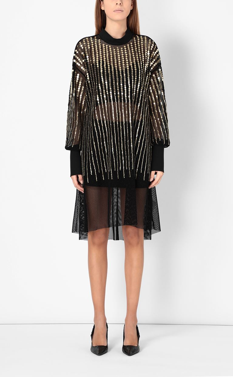 JUST CAVALLI Short dress with sequins Dress Woman r
