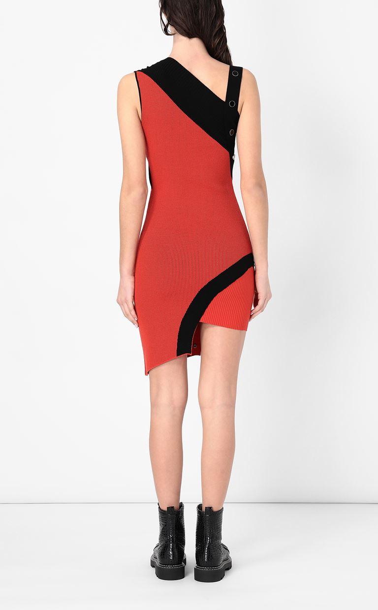 JUST CAVALLI Asymmetrical knitted dress Dress Woman a