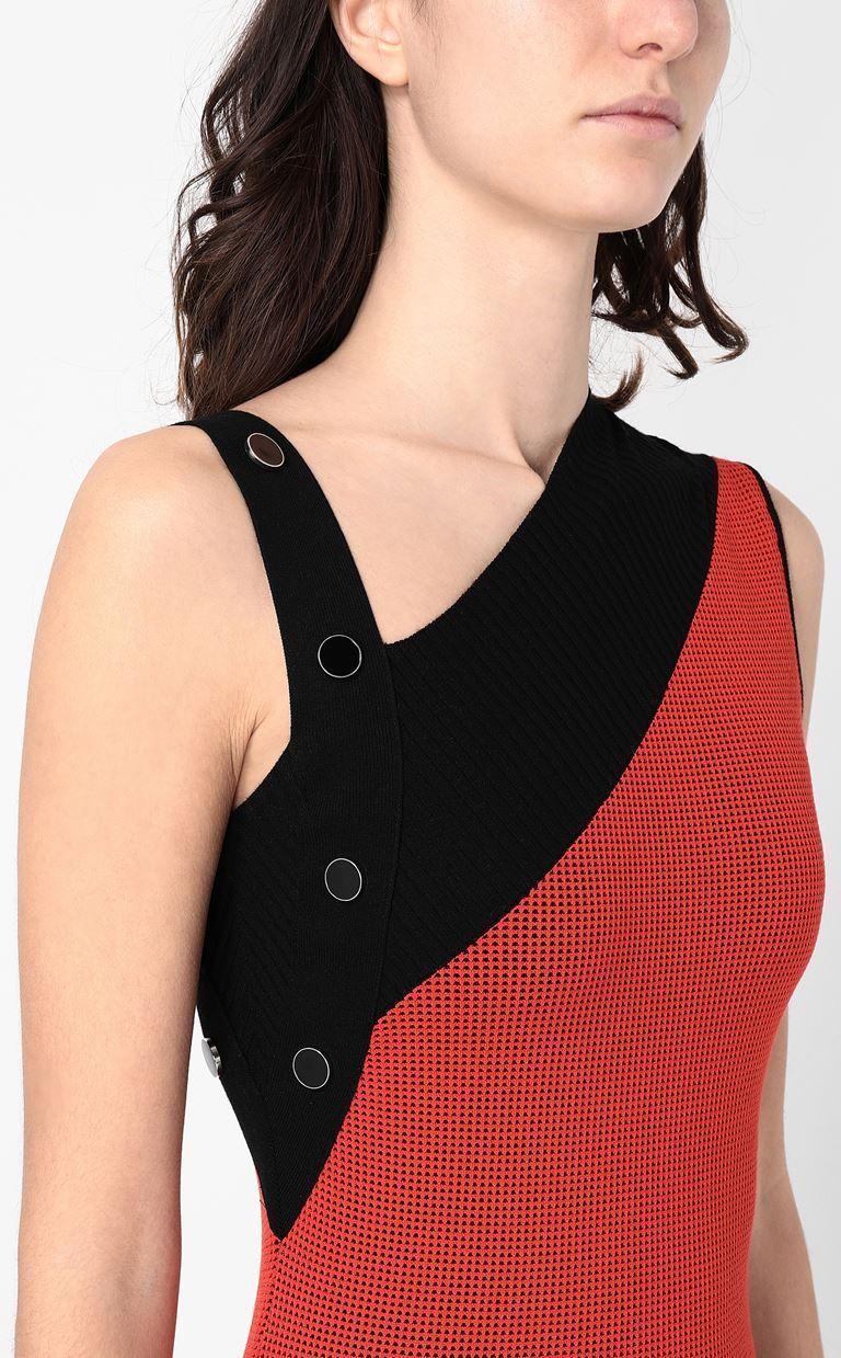 JUST CAVALLI Asymmetrical knitted dress Dress Woman e