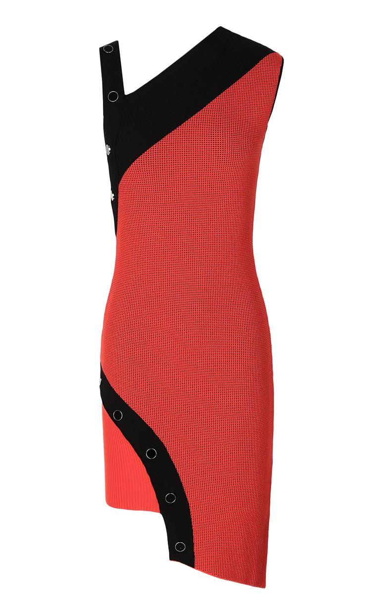 JUST CAVALLI Asymmetrical knitted dress Dress Woman f