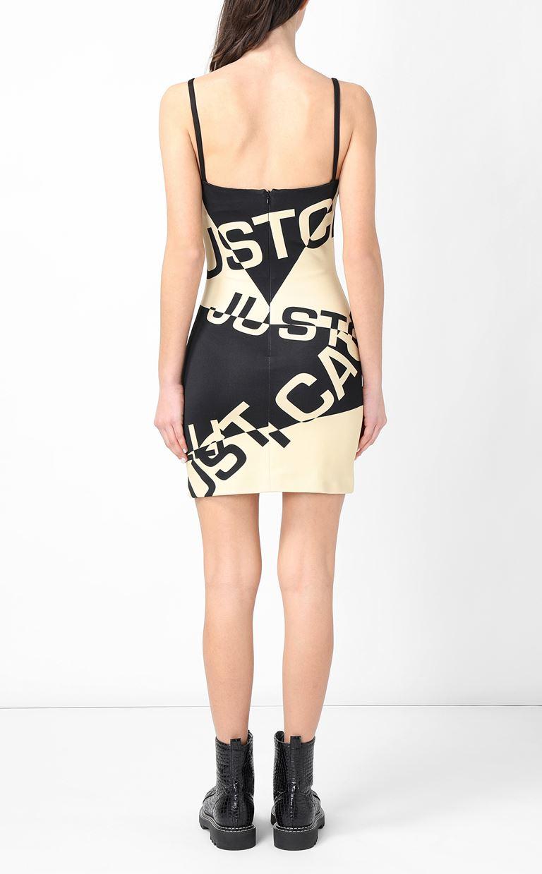 JUST CAVALLI Short dress with logo Dress Woman a