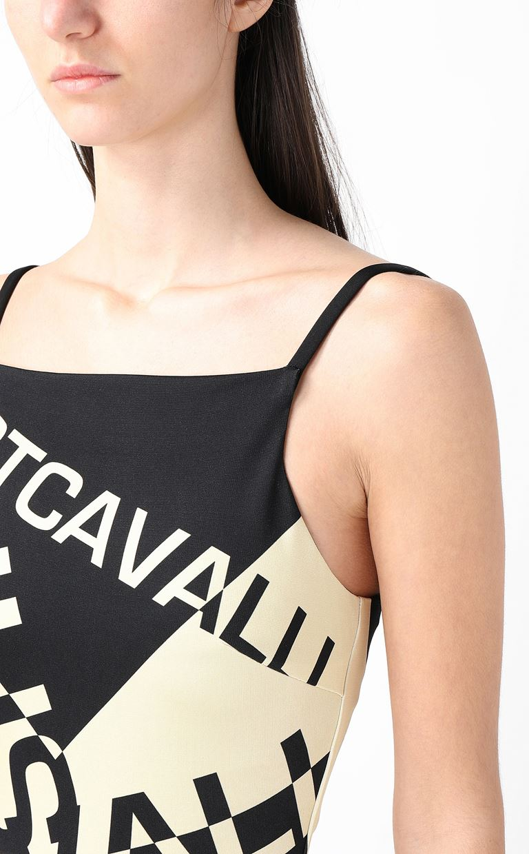 JUST CAVALLI Short dress with logo Dress Woman e